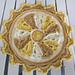 Fleur de Temps Clock pattern
