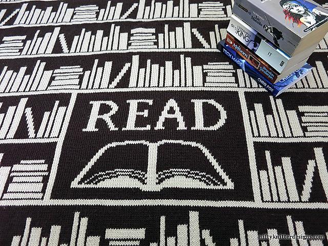Ravelry Book Lover Blanket Pattern By Lisa Hannan Fox