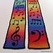Musical Scarf pattern