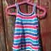Striped bubble dress pattern