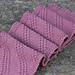Diagonal stripes scarf - ELLE pattern