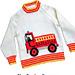 Fire Engine/Truck sweater pattern