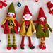 Christmas Elf doll Amigurumi pattern