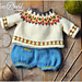 Teddy Bear and Doll Outfit pattern