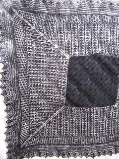 Black Lace Shawl