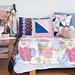 Pinwheel Patchwork & Log Cabin Cushions pattern