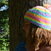 Rainbow Puddles Hat pattern