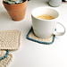 Nordic Textured Coasters pattern