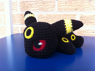 Ravelry: Pokemon Umbreon Amigurumi pattern by Strings Away | 239x320