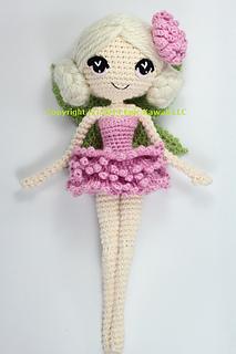 Amigurumi fairy free pattern | 320x213