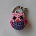 Owl keychain pattern