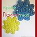 8 petals flower motif pattern