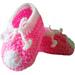 Cute little baby booties pattern