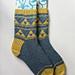 Mitsuuroko Socks pattern