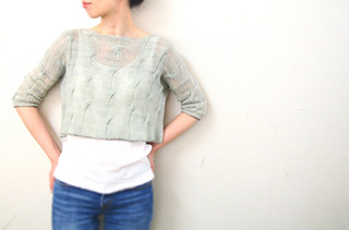 Size: S - - -  I changed the length of sleeves and body shorter than the pattern.