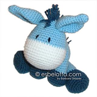 My Love Crochet - Little Pedro - Amigurumi Donkey [Free... | Facebook | 320x320