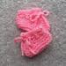 Preemie Garter Bootees pattern