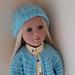 Sherbet Hat for Doll pattern