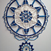 When North Winds Blow Mandala pattern