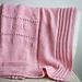 Sweetheart Baby Blanket pattern