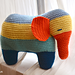 Patches the Elephant pattern