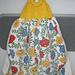 Easy Knit Dish Towel Topper pattern