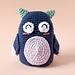 Mocho The Owl pattern