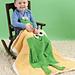Ribbit Blanket pattern
