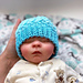 Ombre Baby Hat pattern