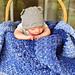 C2C Moss Stitch Baby Blanket pattern