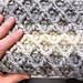 Diamond Stitch Blanket pattern