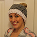 Cluster Messy Bun Hat pattern