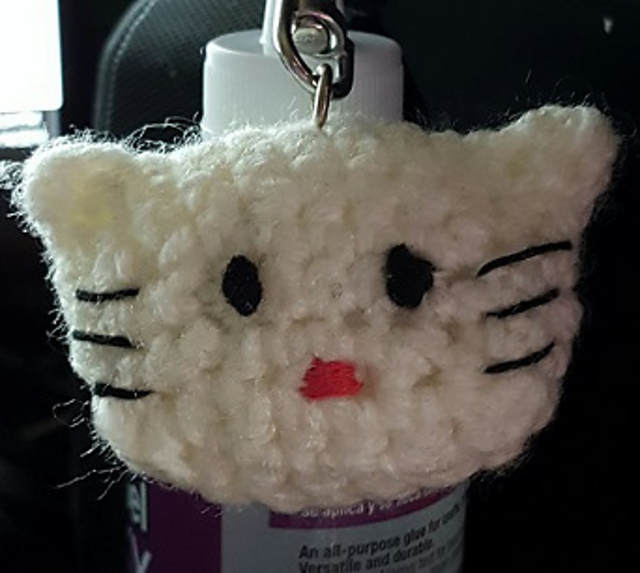Hello kitty Princess Amigurumi key chain👑❤️ | Shopee Malaysia | 573x640