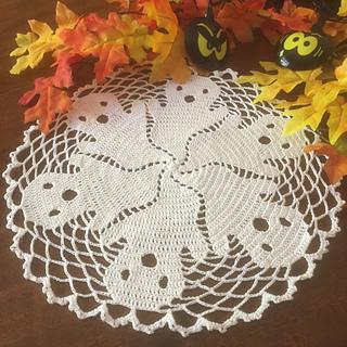 6. Ghost crochet mat