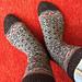 Retro Dream socks pattern