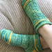 Anything With Bubbles socks pattern