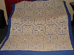 light and lacey afghan