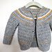 Fairly Isleish Cardigan Sweater for Boys and Girls pattern