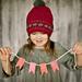 Sweet Heart Slouchy Hat pattern