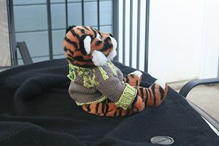 Lizard Swirl Baby Sweater - side
