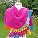 Textured Shawl KAL pattern