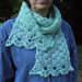 Airy Shells Scarf pattern