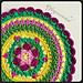 Sunny Garden Mandala pattern