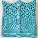 Stitch sampler neckwarmer pattern