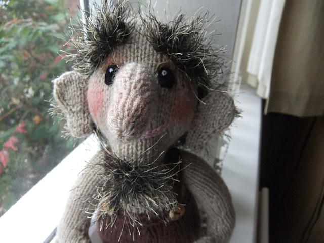 ROCKIN TROLL  cholds storybook Toy knitting pattern by Alan Dart FREEPOST