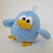 Benjy the Bluebird pattern