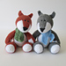 Todd Fox and Ralf Wolf pattern