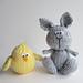 Bunny and Chicky pattern