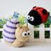 Sammy Snail and Lil Ladybug pattern