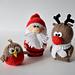 Santa, Rudolph and Robin pattern